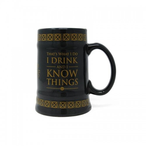 I Drink and I Know Things Bierkrug